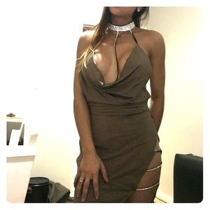 ‼️ SALE ‼️NWOT ASOS Sexy dress tan open back
